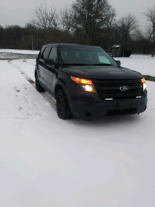 2013 Ford Explorer Inceptor AWD SUV $9500 170kms