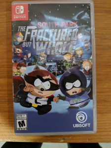 SouthPark fractured but whole