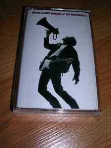 "Record. Cassette ""Bryan Adams Waking Up The Neighbours"" Mint"