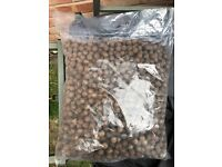 7kg of boilies 20mm spicy fishy flavour