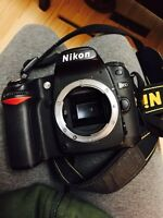 Nikon d80 in like new condition