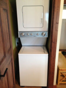 Whirlpool stacked washer/dryer