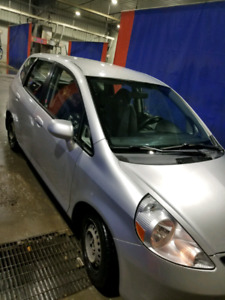 2007 Honda Fit  with Nokian Happakelita winter tires