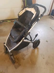 Britax B-Ready stroller with bracket