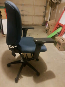 Office chair ergoCentric  24 Centric Task (blue  fabric)