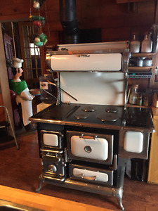 Elmira combination wood/electric range