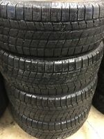 Set of 215/65R16 winter tires