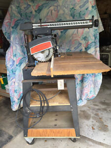 "Sears Craftsman 10"" Radial Arm Saw"