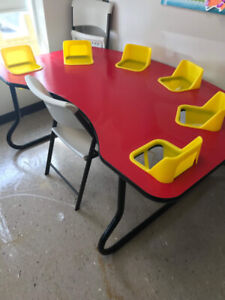Six Seater Child Table For Sale