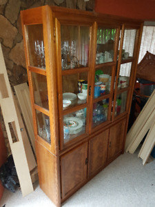 Hutch Display Cabinet
