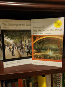 """The Making of the West (4th Edition) + Vol. i & ii """"Sources of"""""""