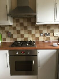 Oven,hob and extractor