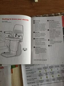 Gently used stannah Stairlift Saxon