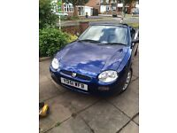 MGF not mx5 206 cabriolet convertable