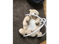 Mothercare Bear teddys toy box kids jungle gym play mat play at
