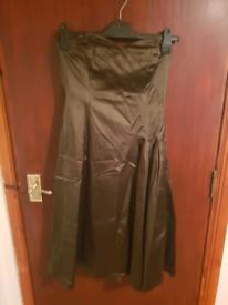 Olive Colour Dress Coast Size 10