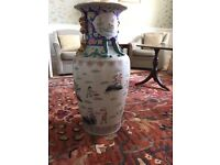Chinese tall vase