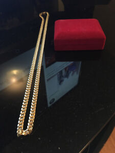 "7mm 28"" Miami Cuban Link Chain , mint condition for $1,500"