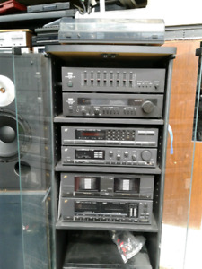 Sansui stereo system