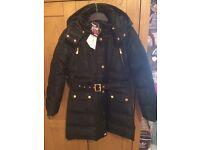 Girls winter school coat