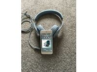 iPod touch 32 gb 6th generation with Beats solo headphones.
