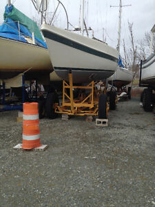 Tanzer 7.5 Sailboat, Motor and Trailer