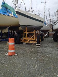 Tanzer 26 Sailboat, Motor and Trailer