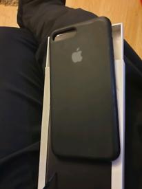 iPhone 7 plus case silicone black