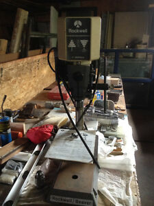 "Perceuse (Drill press) de 11"" Rockwell - Beaver"