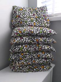 8 IKEA cushions