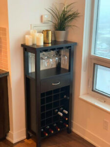 Beautiful Bar Cabinet (barely used)