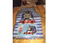 Retro Thomas craft apron with sleeves & furry pyjamas