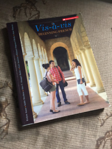 Vis-a-vis: Beginning French, 2nd Canadian Ed. Textbook by Amon