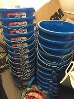 24 heated buckets