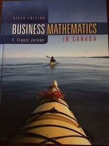 Business mathematics in Canada - 6th Ed