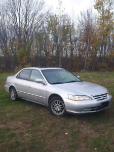 2002 Honda accord(if ad is up it's avaliable)