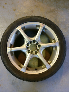 """17"""" mags and winter tires"""