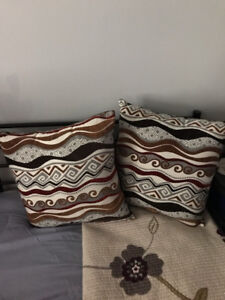 Decorative Pillows: $20 for set of 2