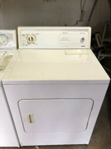 kenmore white front load electric dryer