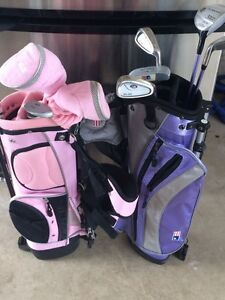 Junior size golf clubs. ( 4-7 year olds)