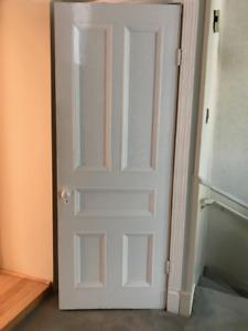 Portes anciennes d'intérieur