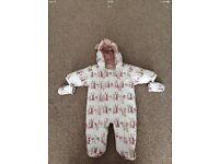 NEXT BABY 0-3months Snowsuit