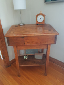 Beautiful Antique School Desk/Table for Sale