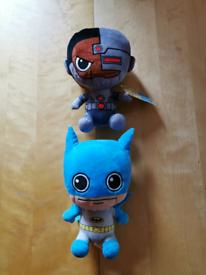 DC Comics Batman and Cyborg Soft Toy Beanie