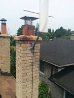 HD TV antenna and installation complete package $230