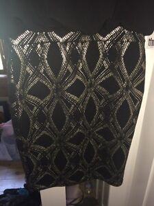 Black & Silver dress Kawartha Lakes Peterborough Area image 2