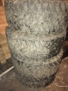 35x12.5R17LT Toyo open Country on Dodge 8 Bolt Rim Strathcona County Edmonton Area image 5