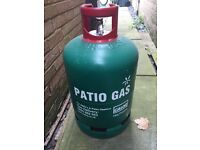 Spare, empty Patio gas bottle 13 kg- £10