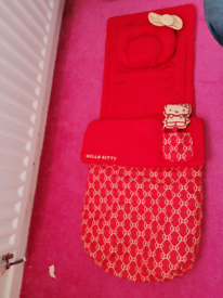 Hello kitty footmuff