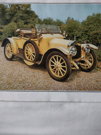 7 Veteran Car Colour Prints suitable for framing! Can be viewed!!